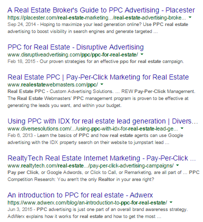 "Search results for ""ppc for real estate"""