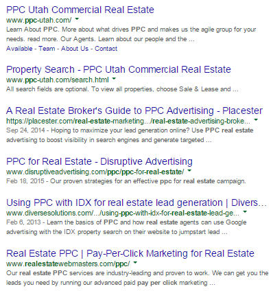"""Search results for """"ppc real estate"""""""