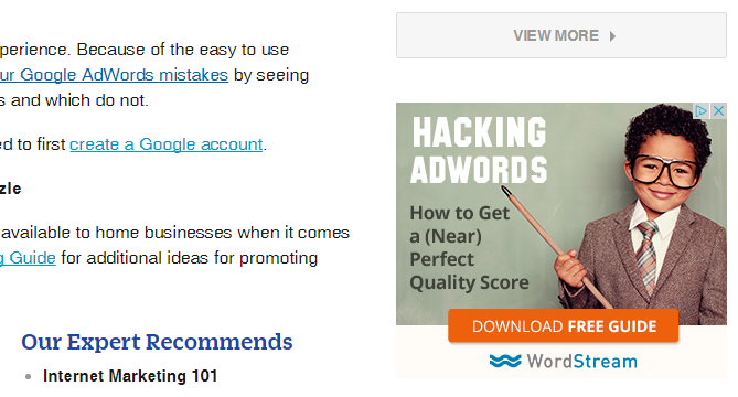 Hacking Google AdWords