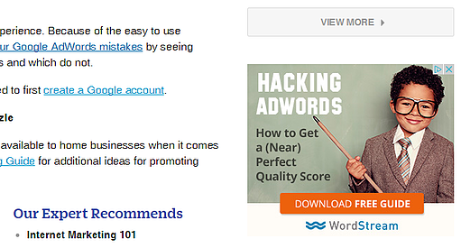 Hacking Google AdWords