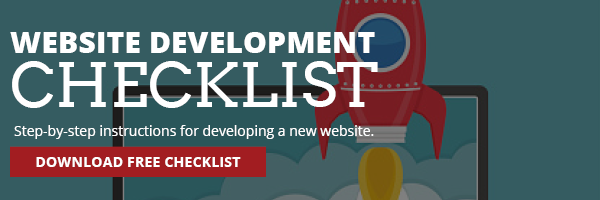 Website Development Checklist CTA