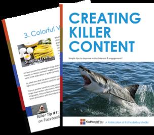 Creating Killer Content eBook
